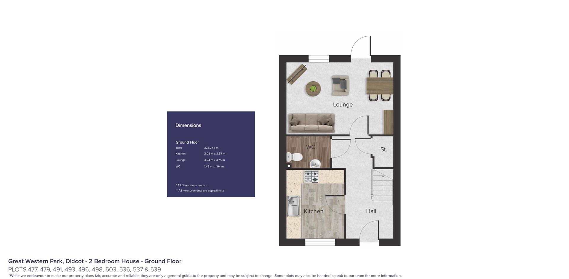 Great Western Park, Didcot_Plots 477, 479, 491, 49